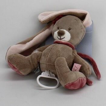 Hudební hračka Nattou 987059 králík Nina