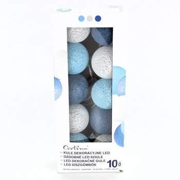 Dekorativní osvětlení Cortina LED modrobílé