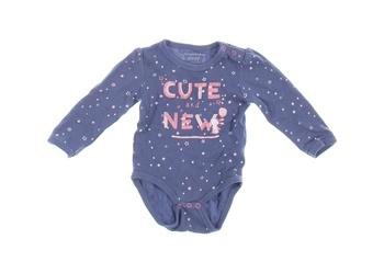 Kojenecké body Baby modré