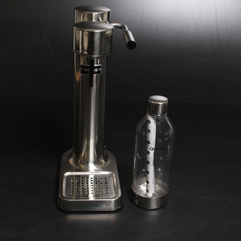 Výrobník sody Aarke CARBONATOR II stříbrný