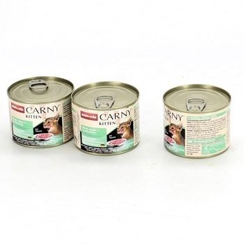 Konzervy pro kočky Carny Kitten 3 x 200