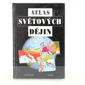 Kniha Atlas světových dějin Geoffrey Parker