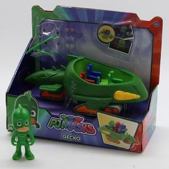PJ Mask a Gecko Mobile zelený Simba 10940208