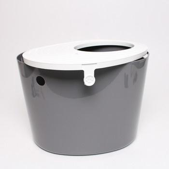 Toaleta pro kočky Iris 531242 šedá