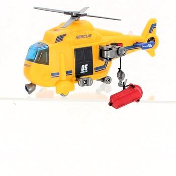 Záchranářský vrtulník Dickie žlutý