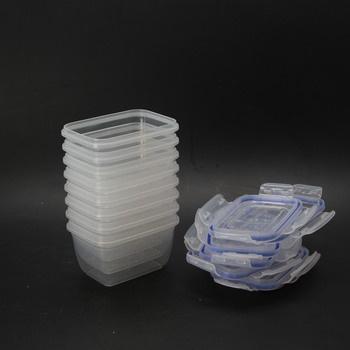 Sada plastových dóz Grizzly 8 ks v balení
