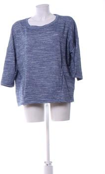 Dámská bavlněná mikina F&F přes hlavu modrá