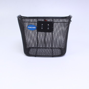 Košík na kolo Fischer 50376 černý