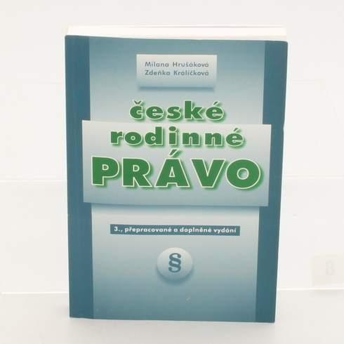 Kniha České rodinné právo