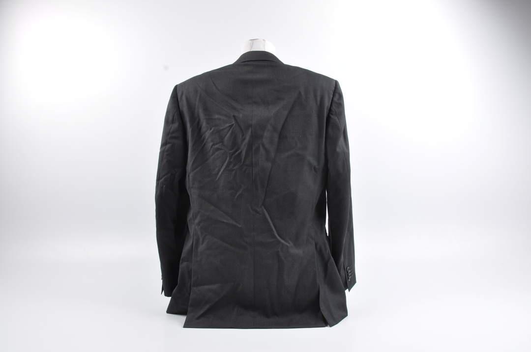 Pánské sako černé s knoflíky