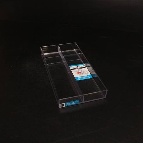 Plastový organizér iDesign koupelnový