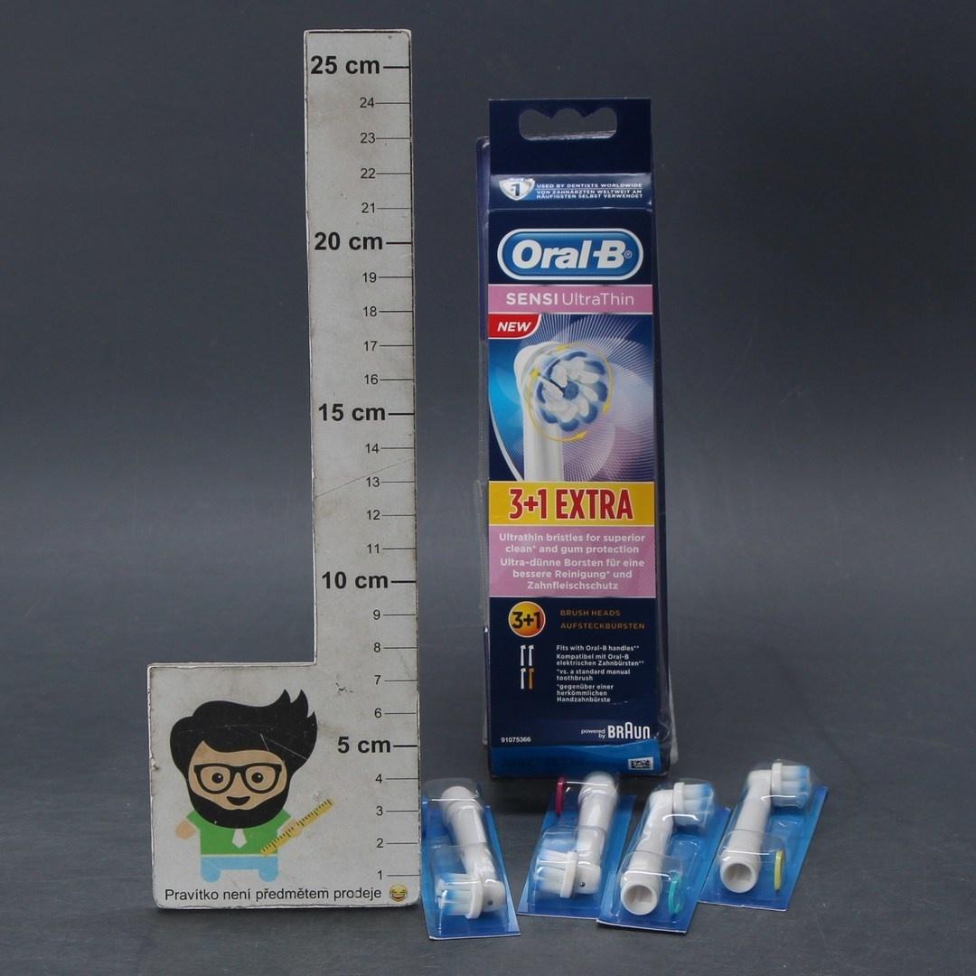 Náhradní hlavice Braun Oral-B Sensi 3+1