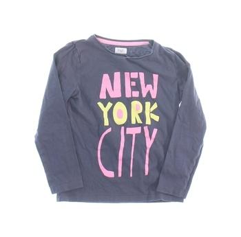 Dívčí tričko New York City F&F šedé