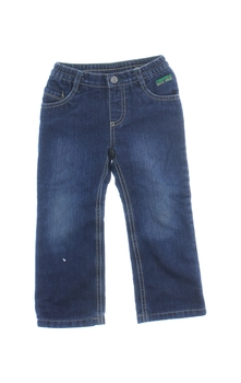 Dětské zateplené džíny Lupilu tmavě modré