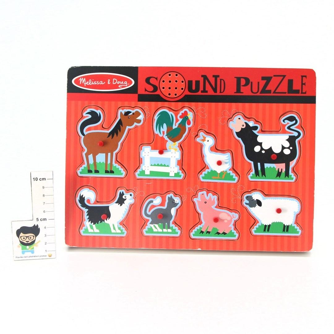 Zvukové puzzle Melissa & Doug 10726 AJ