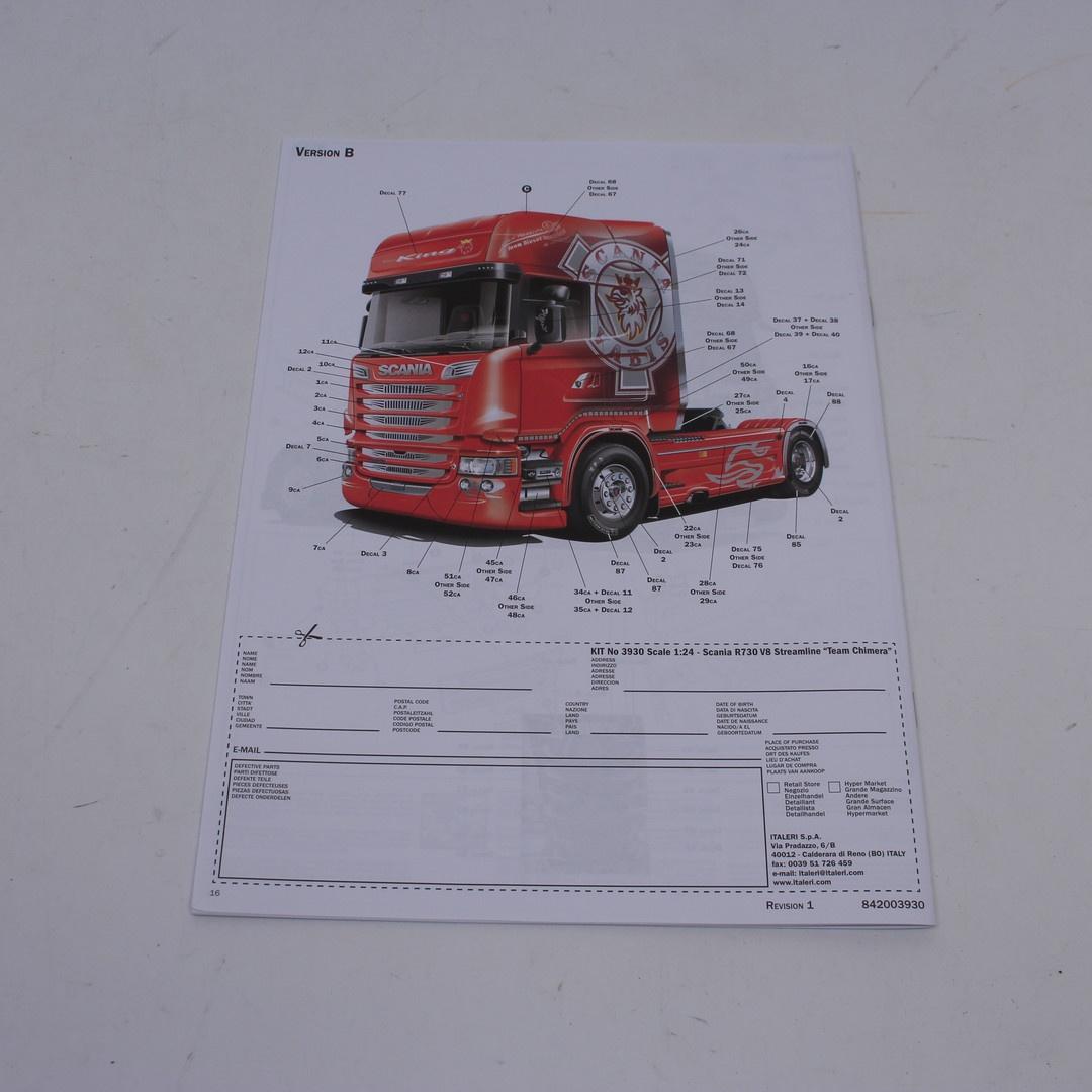 Model auta Scania R730 Italeri 3930