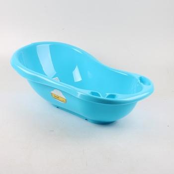 Modrá plastová vanička OKT