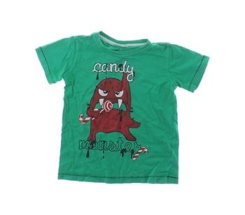 Dětské tričko Candy Monster Okay zelené