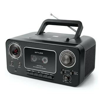 Radiomagnetofon s CD MUSE M-182 RDC