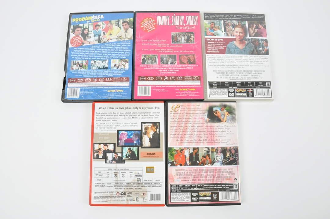 5x DVD - V dobré společnosti, Princ a já