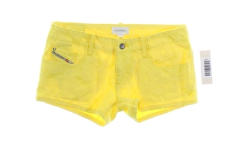 Dívčí šortky žluté Diesel
