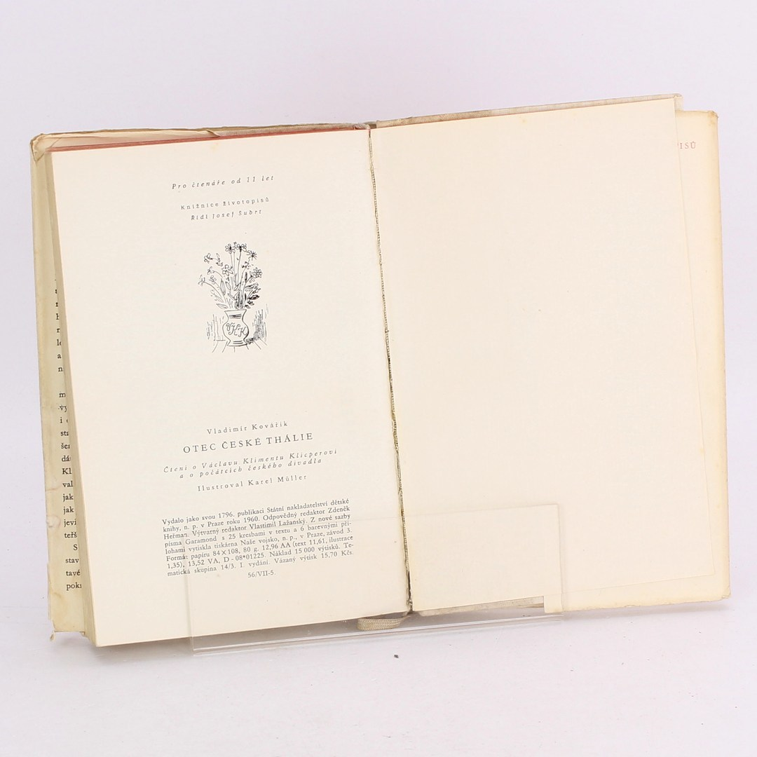 Kniha Otec České Thálie
