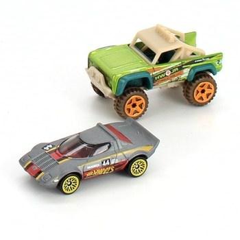 Autíčka závoďák Hot Wheels  a pickup