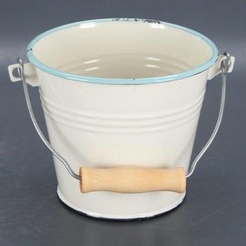 Úklidový smaltovaný kbelík Ibili