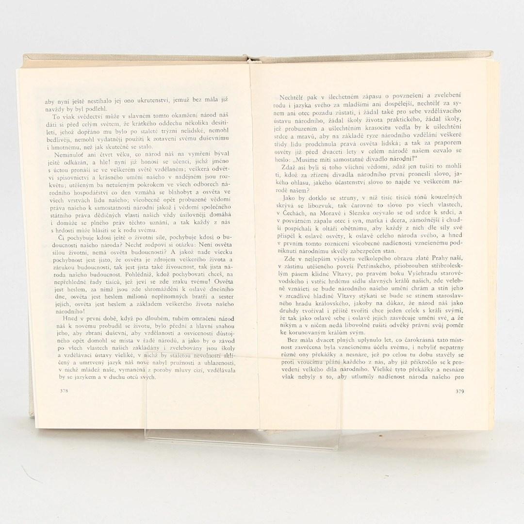 Kniha Odkazy pokrokových osobností naší minulosti