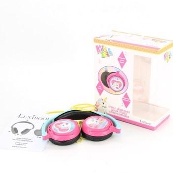 Dětská sluchátka Lexibook růžová