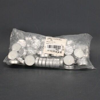 Čajové svíčky Hillfield bílé 1000 ks