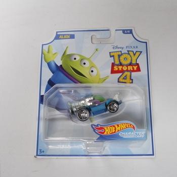 Autíčko Hot Wheels Toy Story 4 Alien
