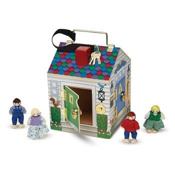 Domeček dřevěný Melissa and Doug 1250