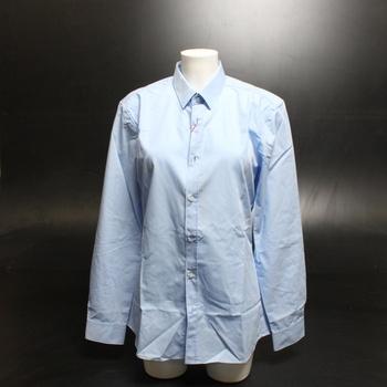 Pánská košile Hugo Lariz modrá