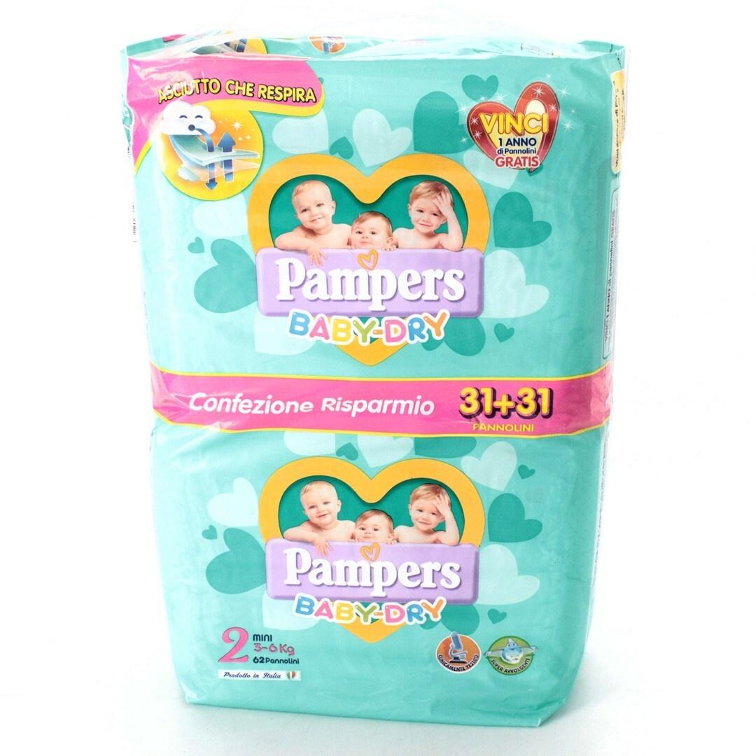 Jednorázové pleny Pampers Baby-dry vel. 2