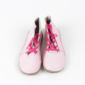 Dámské kotníkové boty Bonprix růžové e713c65d64