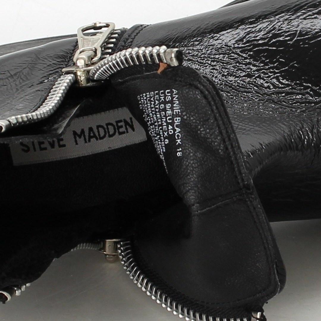 Pánská kotníková obuv Steve Madden černá