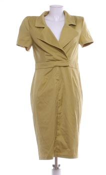 768ec858baee Dámské elegantní šaty Asos odstín zelené