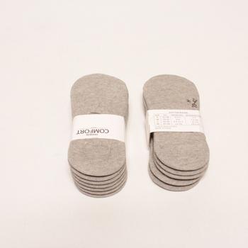 Neviditelné ponožky YouShow 12 párů, 39-42