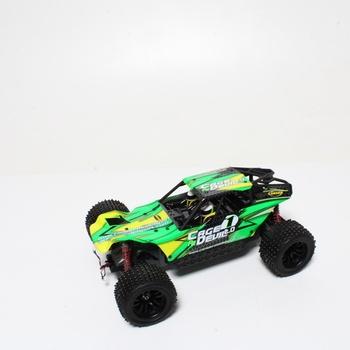 Auto na dálkové ovládání Carson, zelené