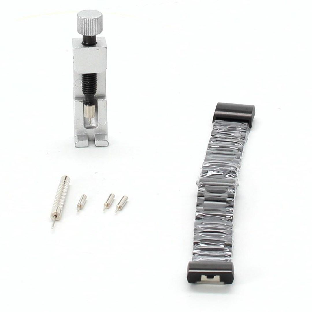 Řemínek k hodinkám Simpeak 20FBC23-B černý