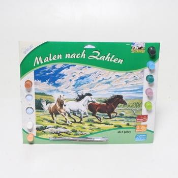 Malování podle čísel Mammut 109026, koně