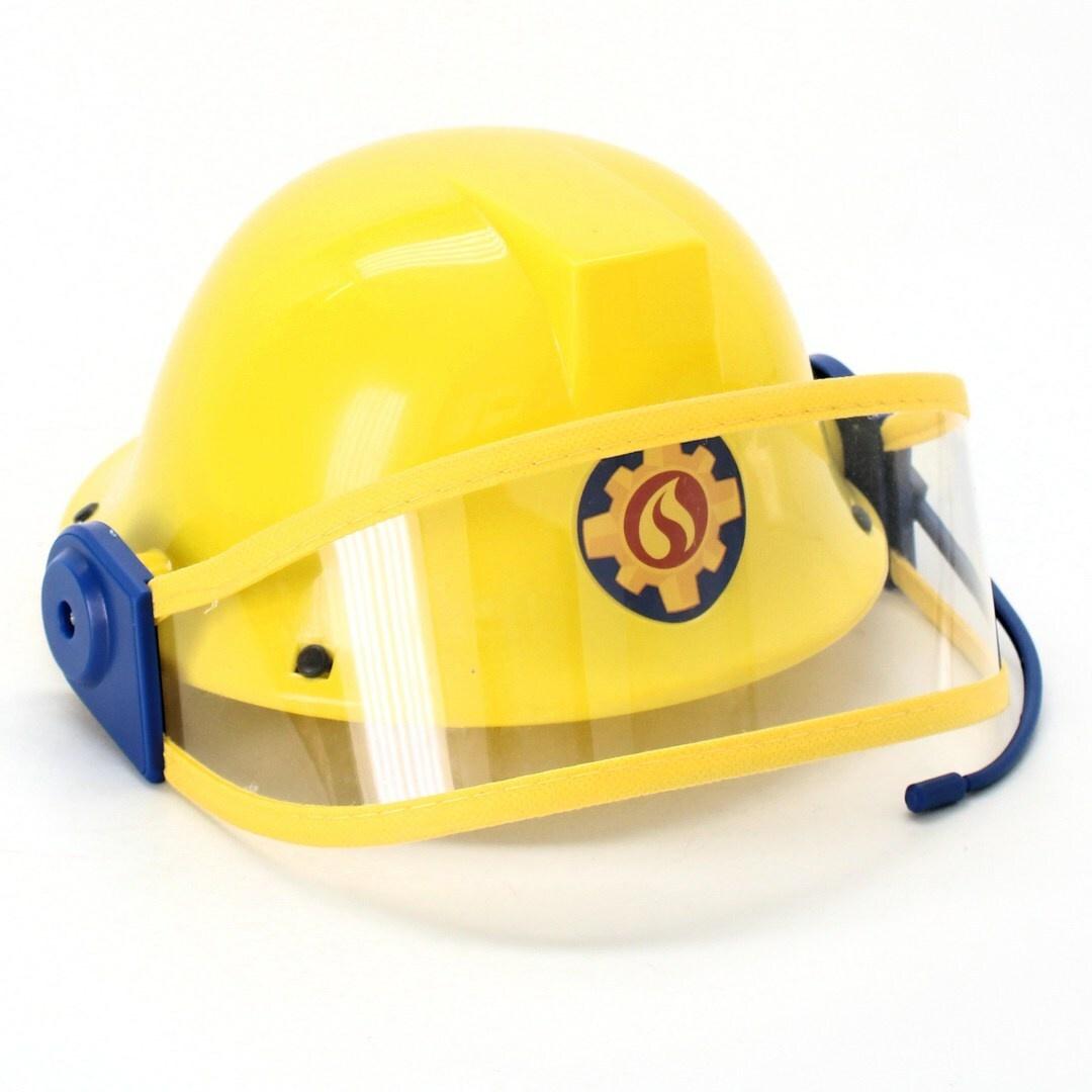 Dětská hasičská helma Simba 109258698 žlutá