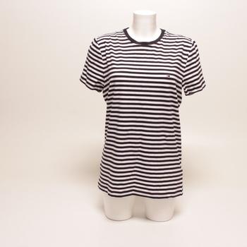Sportovní tričko Tommy Hilfiger pruhované