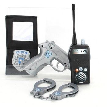 Policejní set Simba plastový