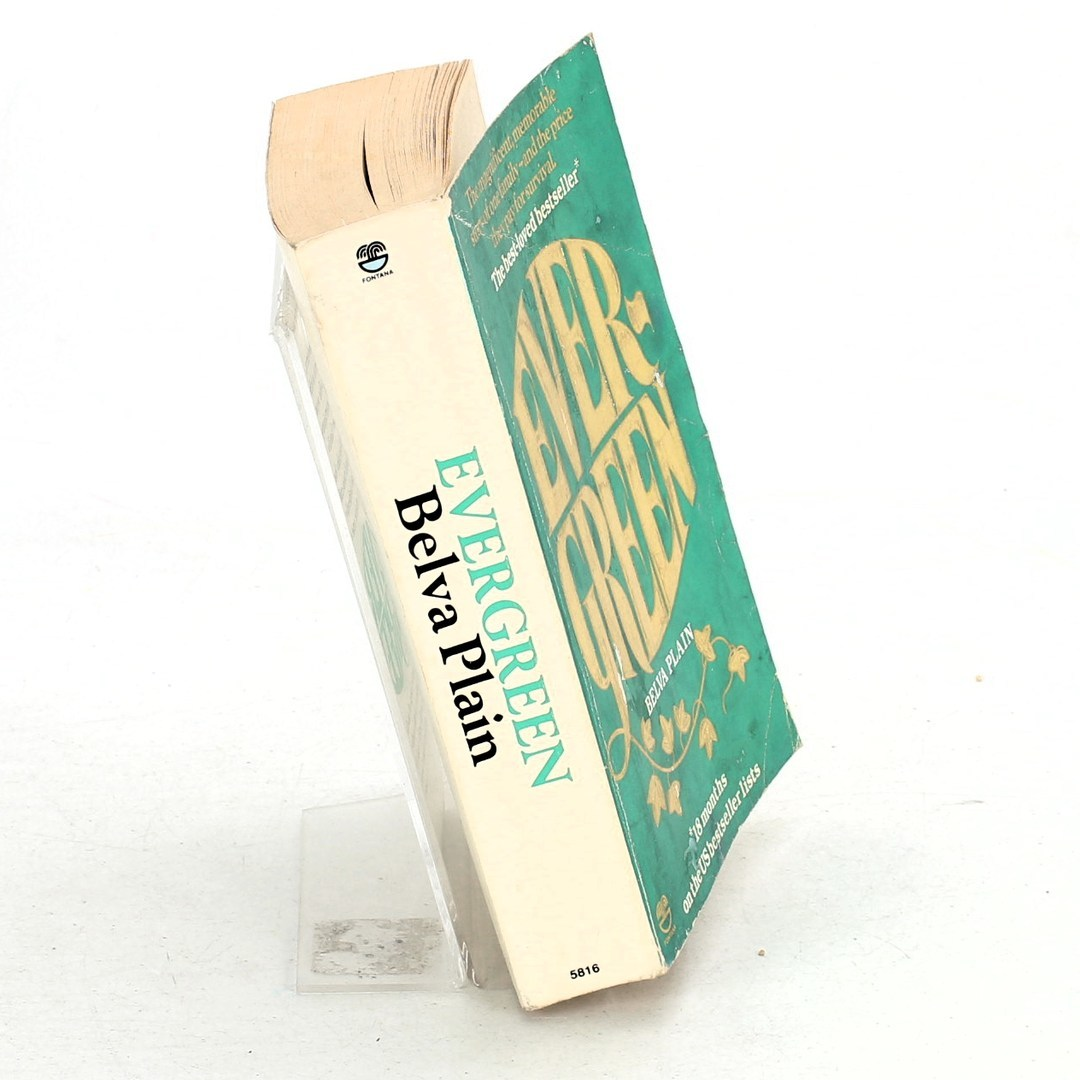 Belva Plain: Evergreen vydáno Fontana Books