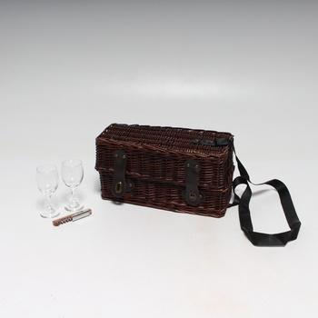 Piknikový košík Legler 6535 na víno