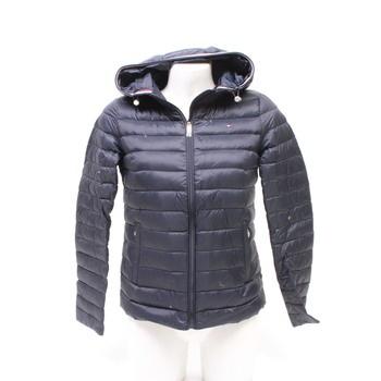 Dámská zimní bunda Tommy Hilfiger modrá