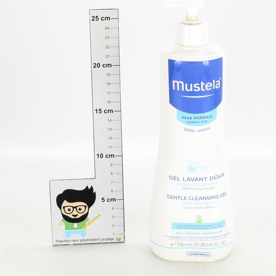 Jemný čistící gel Mustela