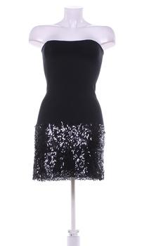 Dámské večerní šaty Sisley černé